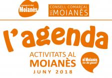 Agenda Moianès juny 2018