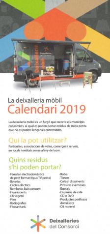 deixallera mòbil 2019